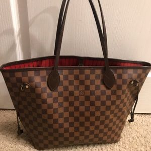 LOUIS VUITTON MM DAMIER NEVERFULL
